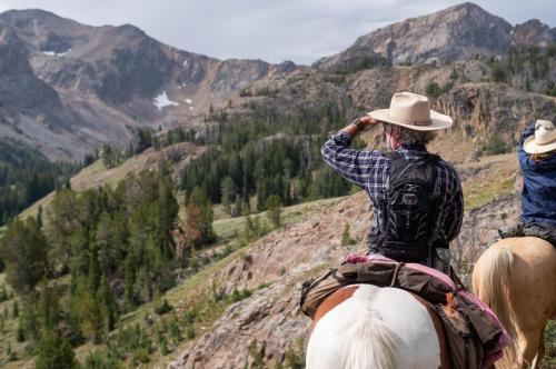 explore new places on horseback