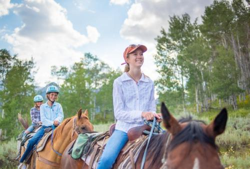 Kid Friendly Guides and Horses